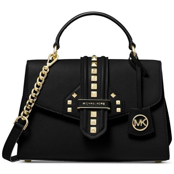 Michael Kors Bleeker Studded Top-Handle Handbag
